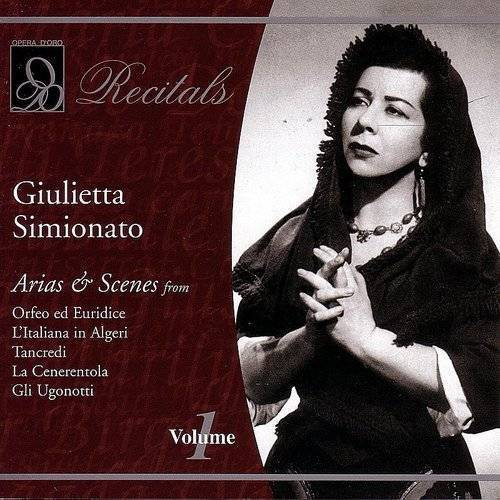 Evening With Giulietta Simionato 1