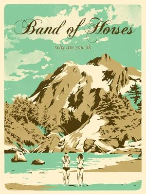Band Of Horses - Free Lithograph SW