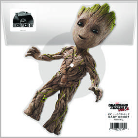 Guardians of the Galaxy Baby Groot Picture Disc
