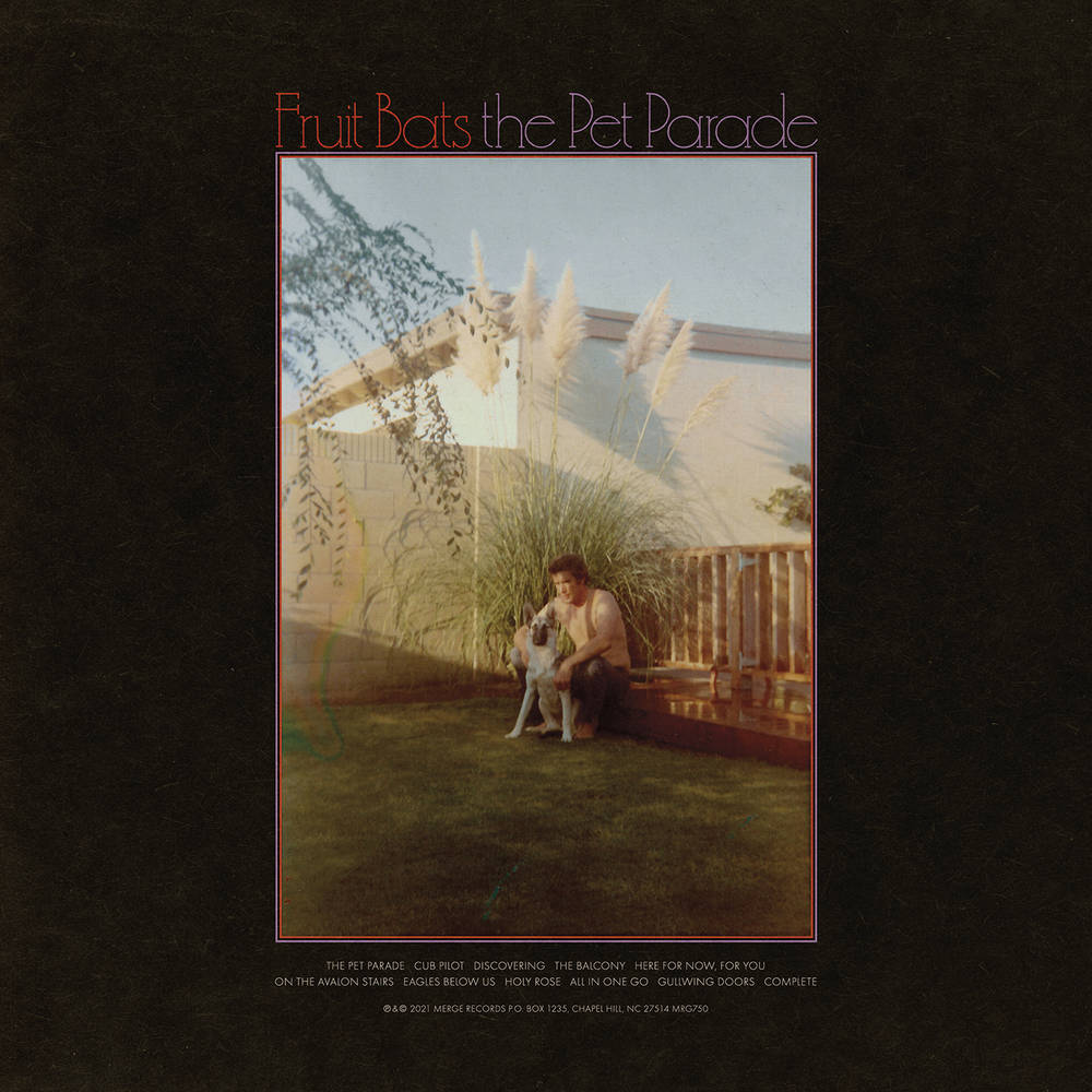 Fruit Bats - Pet Parade [Indie Exclusive Limited Edition Red & Black Swirl LP]