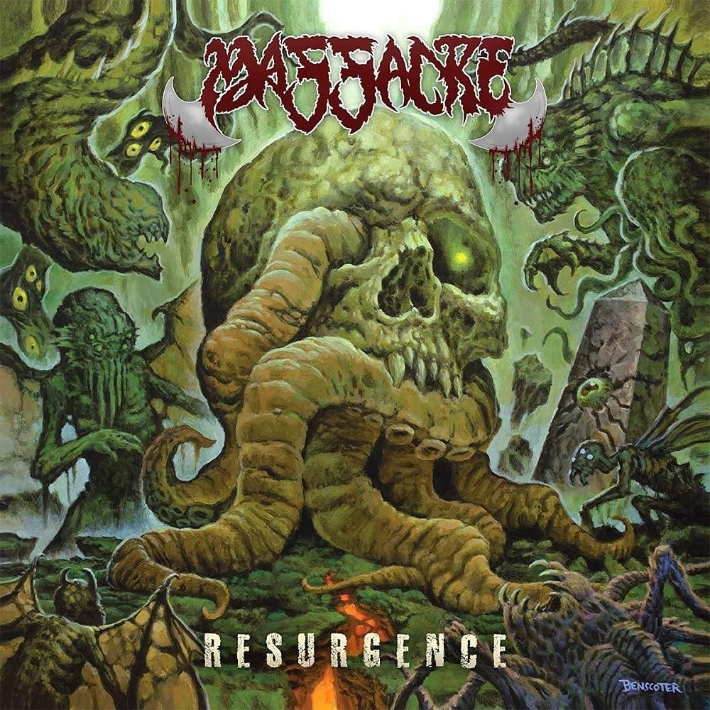 Massacre - Resurgence [Indie Exclusive Limited Edition Cyan Mustard Swirl w/ Black Splatter LP]