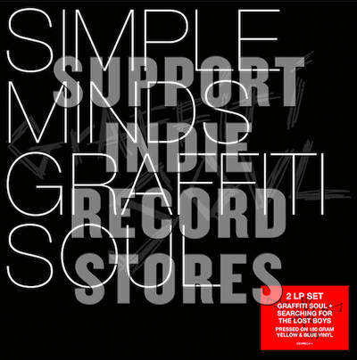 Simple Minds - Graffity Soul + Searching For The Lost Boys [RSD 2019]