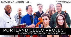 Portland Cello Project with Patti King at Rev Hall 1/25!