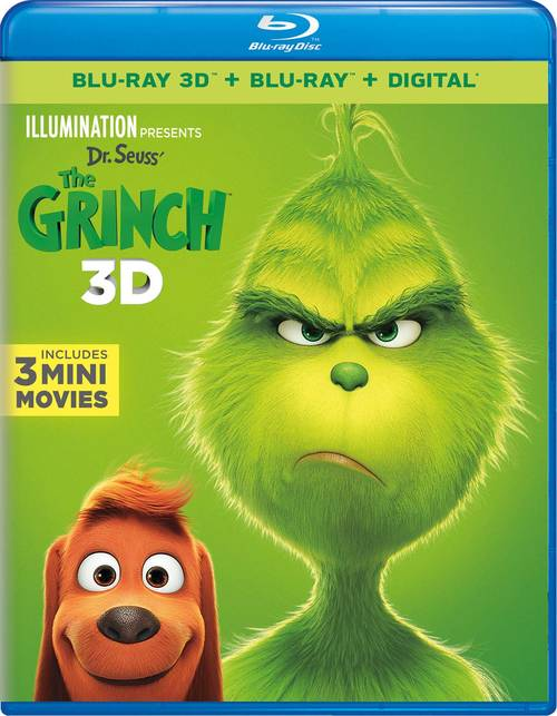 Illumination Presents: Dr. Seuss' The Grinch [3D]