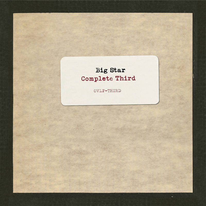 Big Star Complete Third: Vol 3: Final Masters