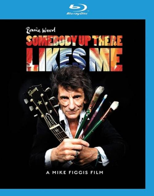Ronnie Wood: Somebody up There Likes Me [Blu-ray]