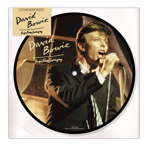 Boys Keep Swinging: 40th Anniversary [Limited Edition Picture Disc Vinyl Single]