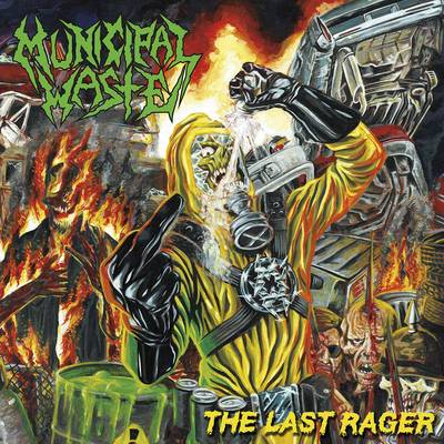 Municipal Waste - The Last Rager [Indie Exclusive Limited Edition Green LP]