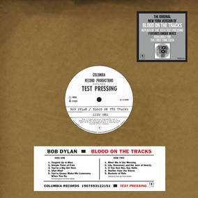 Blood On The Tracks -- Original New York Test Pressing