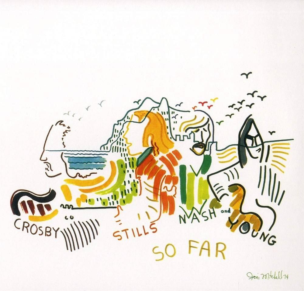 Crosby, Stills, Nash & Young - So Far [LP]