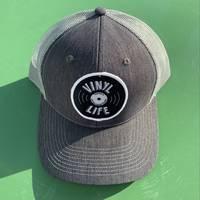 Central Square Records - VINYL LIFE TRUCKER HAT (GREY)
