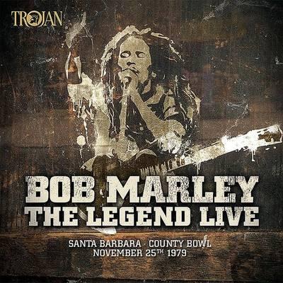 Bob Marley & The Wailers - The Legend Live - Santa Barbara County Bowl: November 25th 1979 [Limited Edition 3LP Red/Yellow/Green Vinyl]