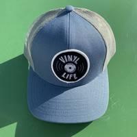 Central Square Records - VINYL LIFE TRUCKER HAT (BLUE)
