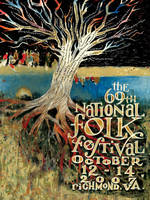 2007 National Folk Festival Poster