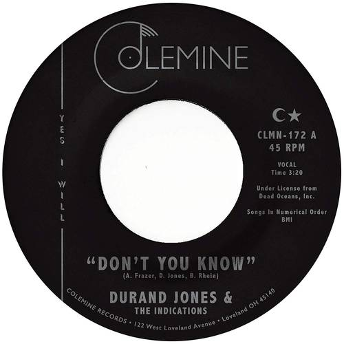 Don't You Know [Vinyl Single]