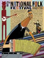 2005 National Folk Festival Poster