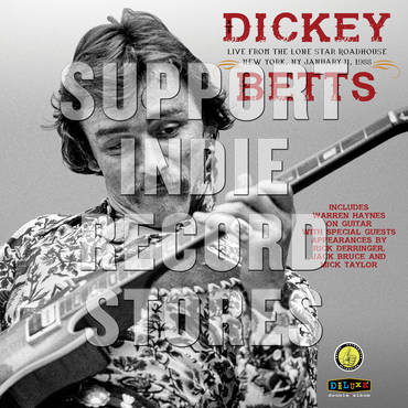 Dickey Betts Band: Live At The Lone Star Roadhouse