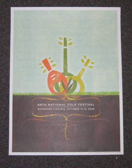 2006 National Folk Festival Poster