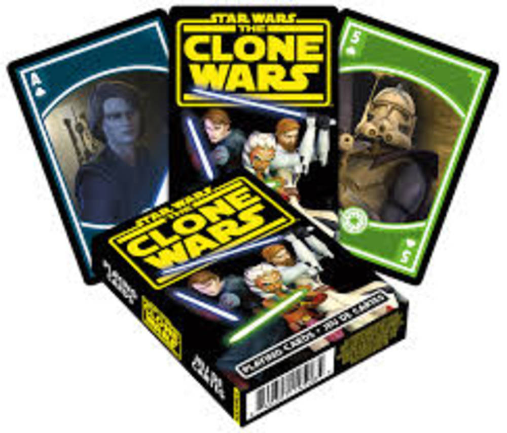 Star Wars - Star Wars Clone Wars Playing Cards Deck