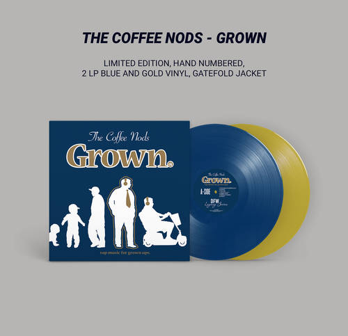 The Coffee Nods - Grown (Limited-Edition Colored Vinyl Double LP)