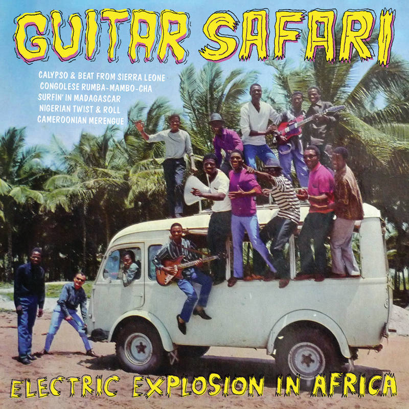 VARIOUS ARTISTS GUITAR SAFARI GUITAR SAFARI