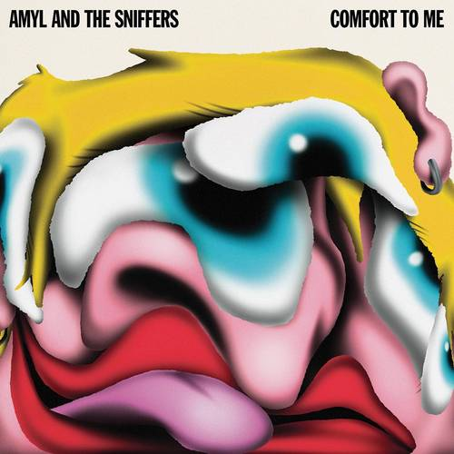Amyl and The Sniffers - Comfort To Me [Indie Exclusive Limited Edition Romer Red LP]