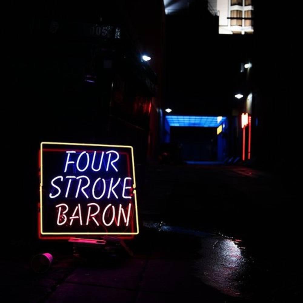 Four Stroke Baron - Planet Silver Screen [Clear LP]