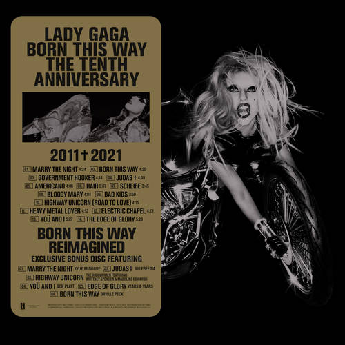 Lady Gaga - Born This Way: The Tenth Anniversary [3LP]