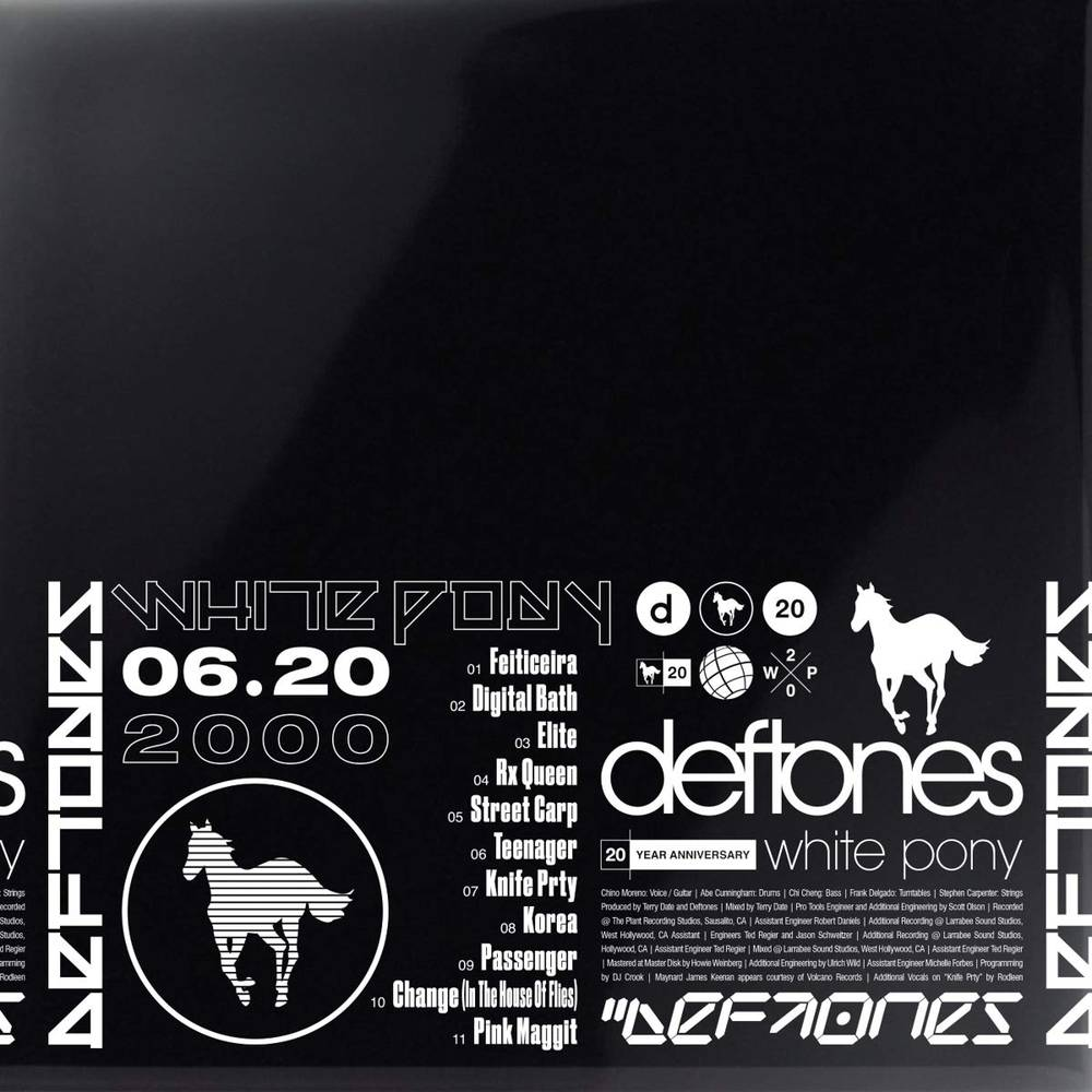 Deftones - White Pony: 20th Anniversary [Indie Exclusive Limited Edition Deluxe 4LP+Litho]