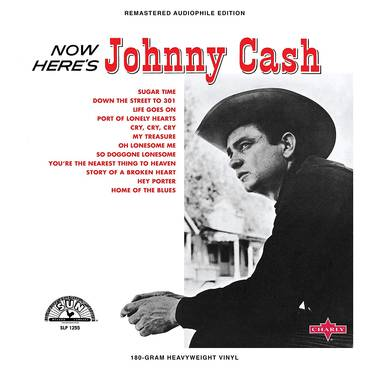Now Here's Johnny Cash [Limited Edition Red LP]