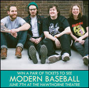 Modern Baseball at the Hawthorne Theatre, 6/7