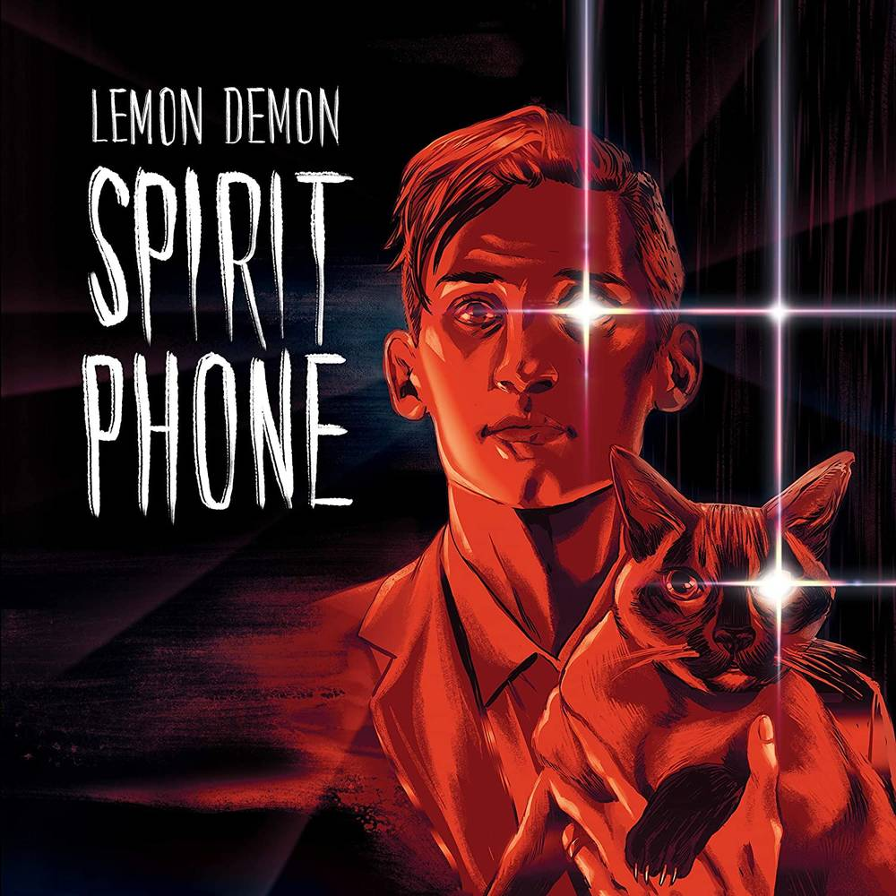 Lemon Demon - Spirit Phone [Red w/ White Splatter 2 LP]
