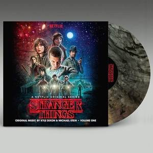Stranger Things Soundtrack Vol.1 [Indie Exclusive Limited Edition Clear With Black Smoke Vinyl]