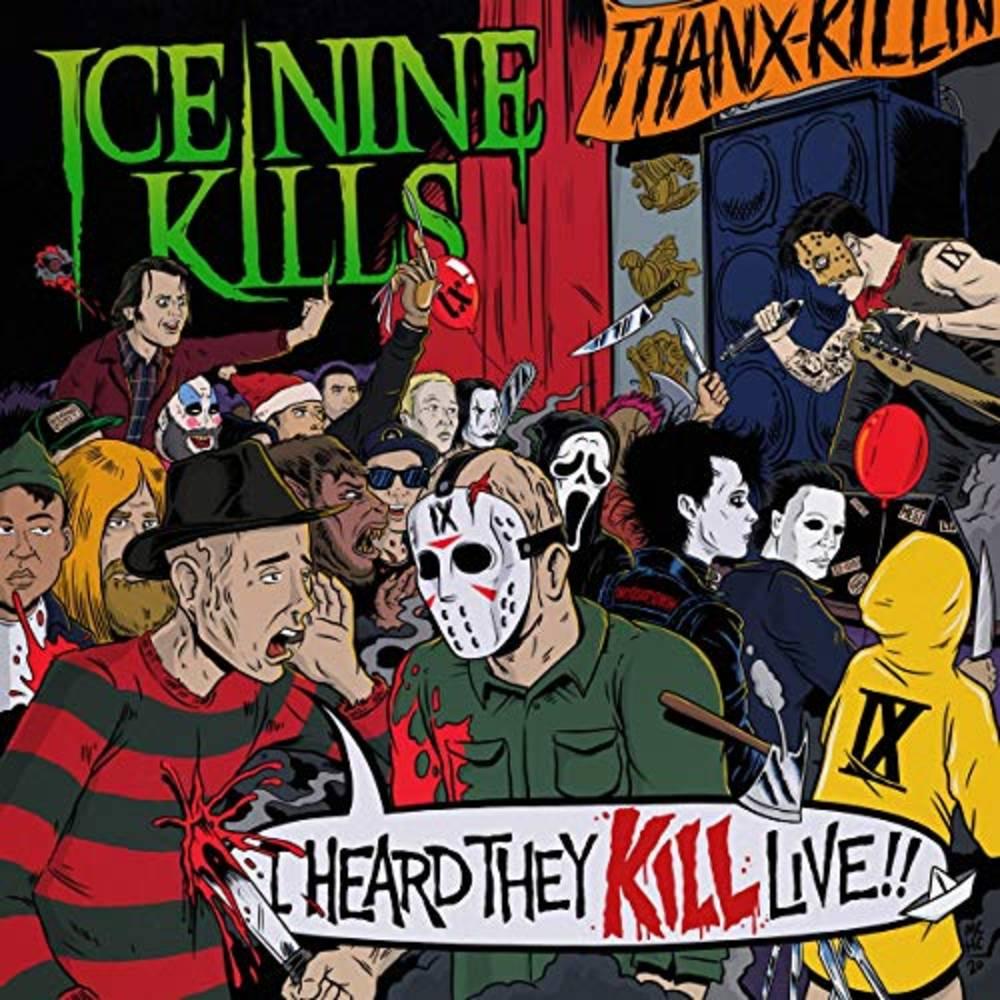 Ice Nine Kills - I Heard They Kill Live [Neon Green Marble 2LP]