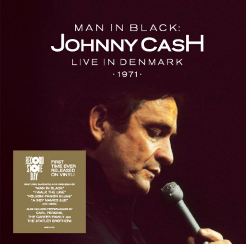 Johnny Cash Man in Black Live in Denmark 1971