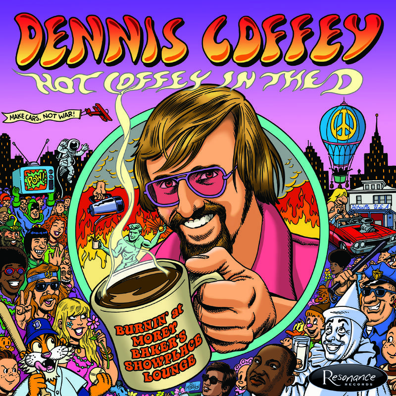Dennis Coffey Hot Coffey In The D: Burnin' at Morey Baker's Showplace Lounge