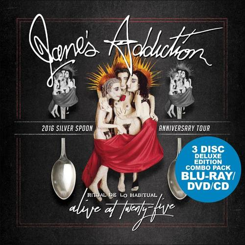 Jane's Addiction - Alive At Twenty Five [Blu-ray + DVD + CD]