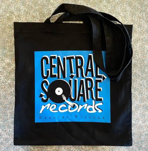 Central Square Records - CSR BLACK TOTE BAG