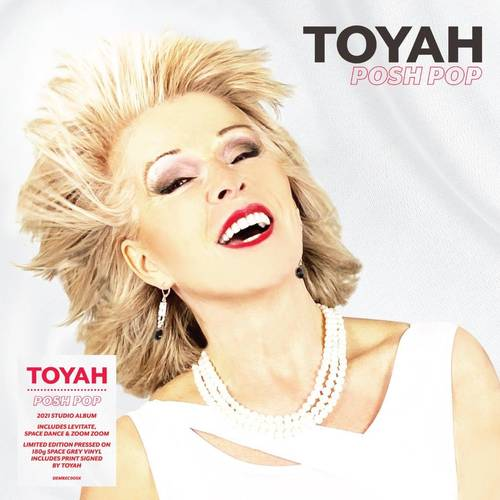 Toyah - Posh Pop [Indie Exclusive Limited Edition Signed Space Grey LP]
