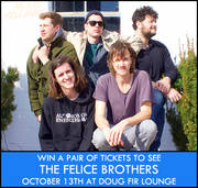 The Felice Brothers at Doug Fir Lounge, 10/13