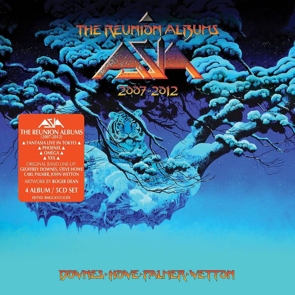 Asia - The Reunion Albums 2007-2012 [5CD Box Set]