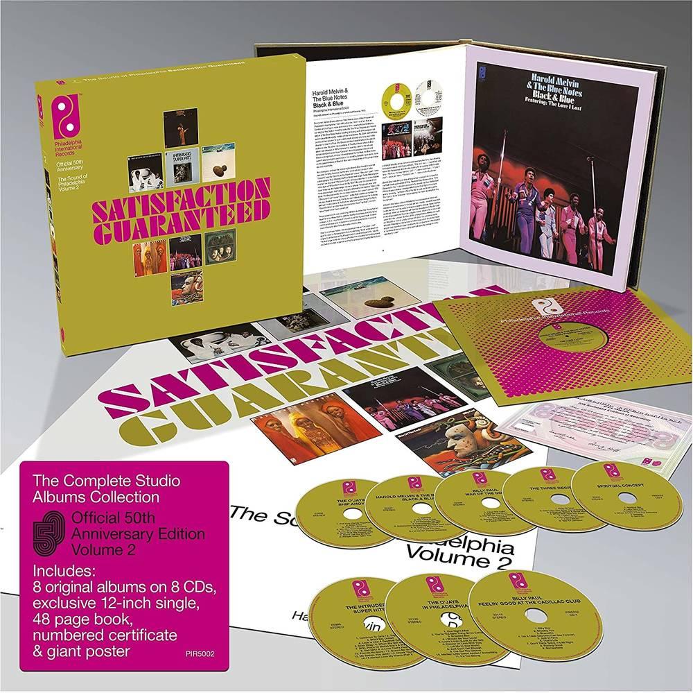 Various Artists - Satisfaction Guaranteed: The Sound Of Philadelphia International Records Volume 2 [8CD Book Set with Bonus 12in Single]