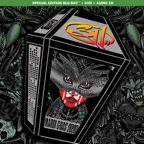 311 - Mardi Gras 2020 [Ultra Deluxe Blu-Ray/DVD/Bonus CD]