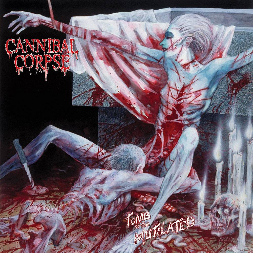 Cannibal Corpse - Tomb Of The Mutilated [Limited Edition Red LP]