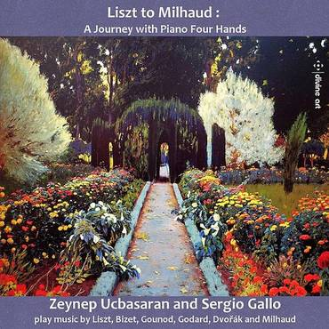 Liszt To Milhaud / Various