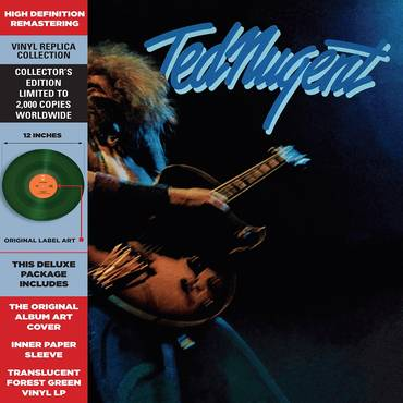 Ted Nugent [Limited Edition Translucent Green Vinyl]