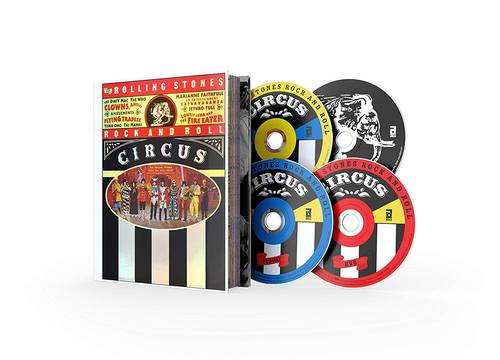 The Rolling Stones Rock And Roll Circus [Limited Deluxe Edition 2 CD/Blu-ray/DVD]