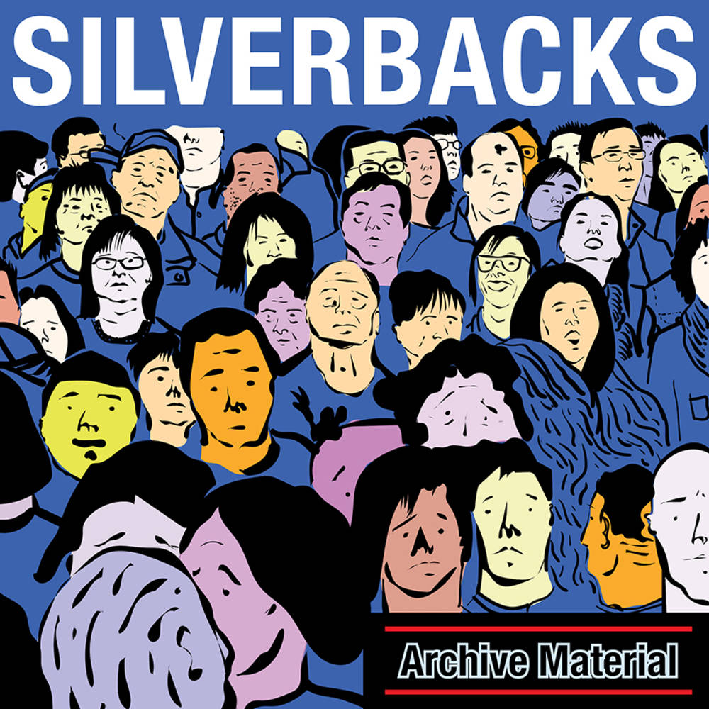 Silverbacks - Archive Material [Indie Exclusive Limited Edition Blue LP]