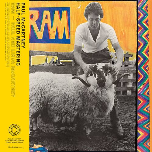 Paul & Linda McCartney - RAM [Indie Exclusive Limited Edition 50th Anniversary Half Speed Master LP]