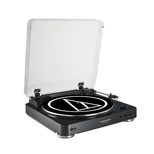 AT-LP60BK BLACK TURNTABLE